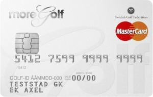More Golf kreditkort