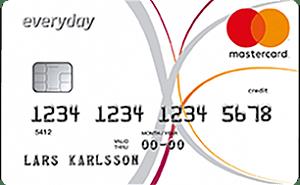 EverydayCard mastercard kreditkort