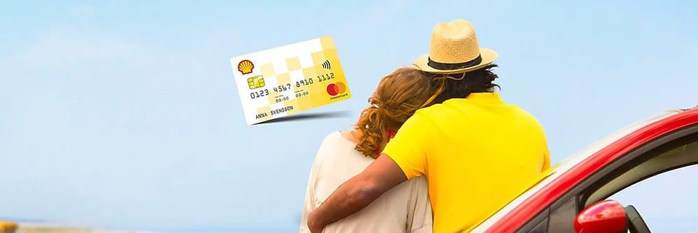 Shell Mastercard kreditkort bild