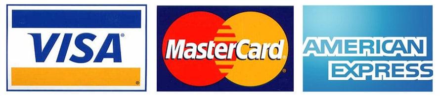 visa - mastercard och american express
