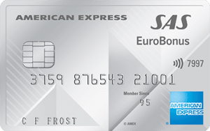 SAS Eurobonus American Express - Premium Card