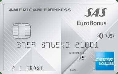 SAS Eurobonus Premium Card – American Express
