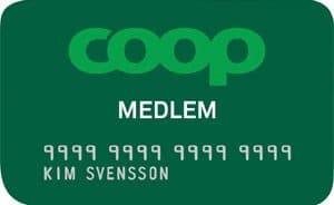 coop medlemskort