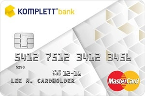 komplett bank kreditkort