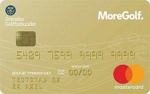 MoreGolf kreditkort
