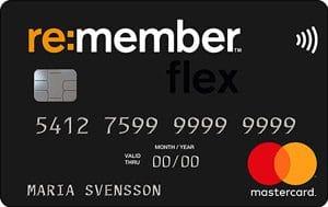 remember flex kreditkort