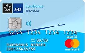 SAS Eurobonus Mastercard World