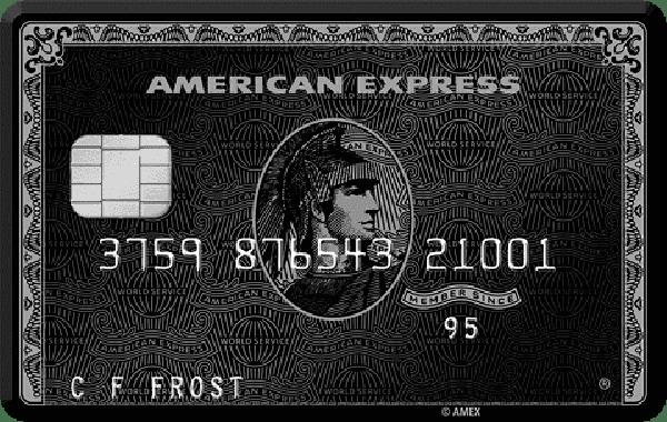 American Express Centurian - Black Card