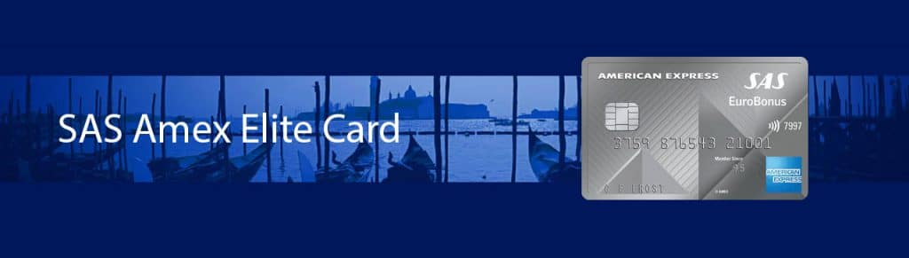 SAS eurobonus American Express Elite credit card