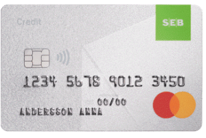 SEB Credit Mastercard
